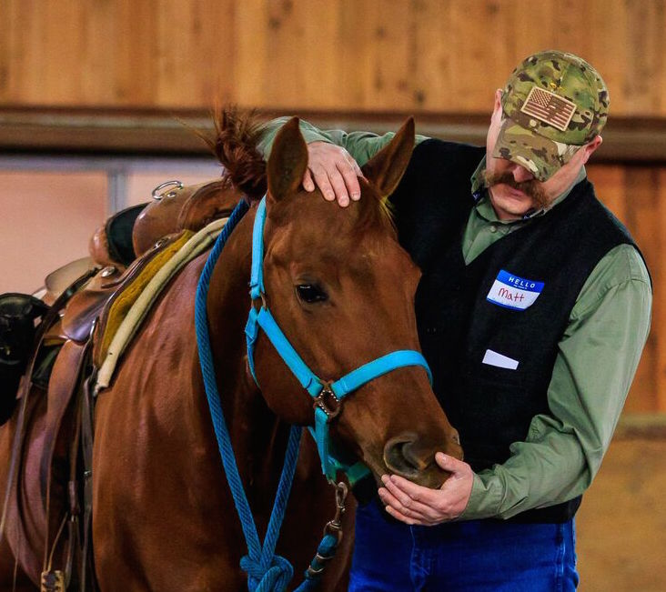 WASHINGTON FOUNDATION BOOSTS EQUINE THERAPY FOR VETS PROGRAM