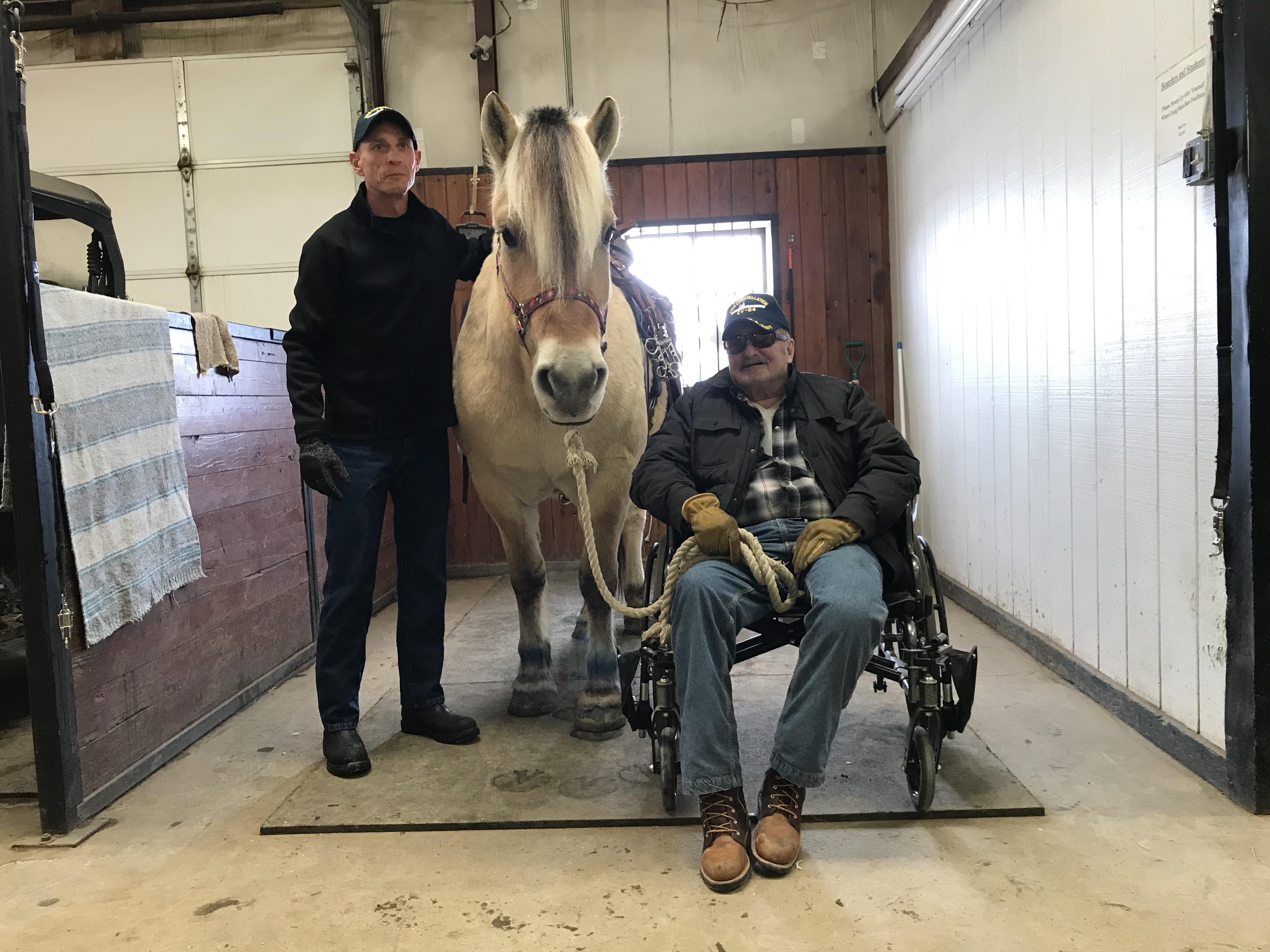 Navy veteran rides again at HSHI